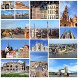 Ställen i Europa Arkivfoton