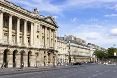 Stället de la Concorde är en av viktiga offentliga fyrkanter i Paris, Fr Arkivbilder