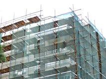 Ställning på konstruktionsplatsen Royaltyfri Bild