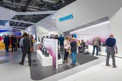 Ställning vid Siemens Royaltyfri Foto