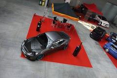 Stämd bil för korean, Hyundai Genesis Coupe Royaltyfria Foton