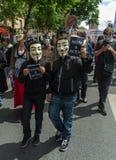 stämm överens actaen anti förfalskad internetlag Royaltyfri Foto