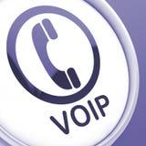 Stämma för Voip knapphjälpmedel över Internet Protocol stock illustrationer