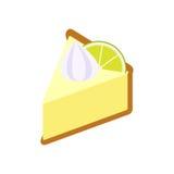 Stämma limefruktpien Arkivbild