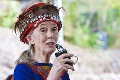 Stämme des Dr. Jane Goodall MACK Daru in Taitung Taiwa stockfotografie