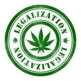 Stämpel av legalisering vektor illustrationer