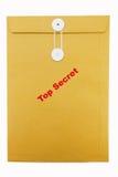 stämpel för kuvertpapper Royaltyfri Fotografi