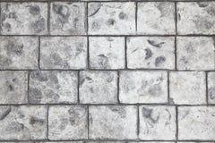 Stämplad konkret golvbakgrund Fotografering för Bildbyråer
