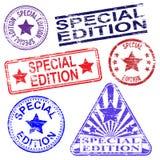 Stämplar för special upplaga Fotografering för Bildbyråer