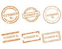 Stämplar för vitamin B3 Royaltyfria Bilder