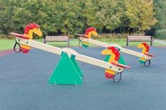 Ständiges Schwanken für Spielplatz Lizenzfreie Stockfotografie