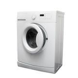 stäng maskinen som skjutas upp tvätt arkivfoton