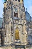 Stäng sig upp av domkyrkahelgon Vitus, Wenceslaus och Adalbert i Tjeckien, Royaltyfria Bilder