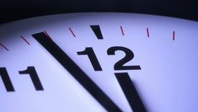 Stäng sig upp av ticka för klocka lager videofilmer