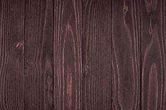 Stäng sig upp av väggen som göras av träplankor Royaltyfri Bild