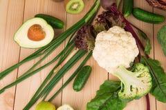 stäng sig upp grönsaker Royaltyfria Foton