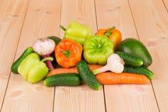 stäng sig upp grönsaker Arkivbild