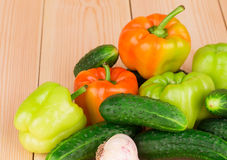 stäng sig upp grönsaker Arkivbilder