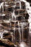 stäng sig upp vattenfallet royaltyfri fotografi