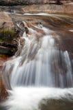stäng sig upp vattenfallet royaltyfria bilder