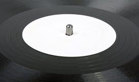 stäng sig upp vinyl arkivbilder