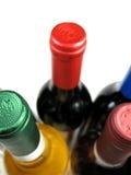 stäng sig upp wine Fotografering för Bildbyråer