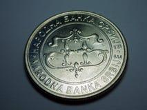 stäng upp myntet Royaltyfria Foton