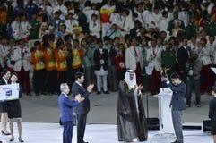 Stängande ceremoni royaltyfria bilder