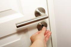 stängande dörr Royaltyfria Foton