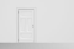 stängd dörr Arkivbilder