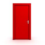 stängd dörr royaltyfri illustrationer