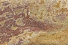 Stängd detalj av granatröttstenen Arkivfoton