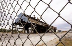stängd fabrik Arkivfoton