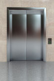 stängd hiss royaltyfria foton