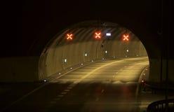 Stängd tunnel Arkivfoto