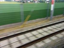 Stänger av järnväg drev Arkivbilder