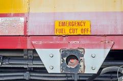 Stängt av bränsle Royaltyfri Fotografi