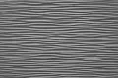 Stängt upp av horisontaltextur av Gray Abstract Waves Royaltyfri Fotografi