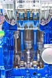 Stängt upp den nya motorn Royaltyfria Foton