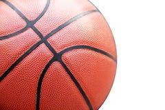 Stängt upp sikt av basketbal utomhus- Royaltyfria Bilder