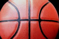 Stängt upp sikt av basketbal utomhus- Royaltyfri Fotografi