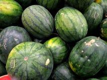 Stängt upp vattenmelonbakgrundsyttersida arkivfoton