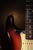 stänkskärmgitarrstratocaster Royaltyfri Bild