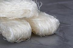 Stärkeglasnudel-Mungobohnen, Kartoffeln, Reis Lizenzfreie Stockfotografie