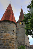 stärkt kyrka Arkivfoton