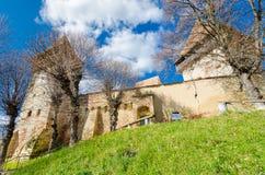 Stärkt kyrka av Alma Vii Royaltyfri Foto