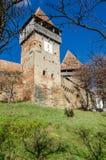 Stärkt kyrka av Alma Vii Royaltyfri Fotografi