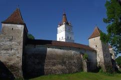 Stärkt kyrka av Harman Arkivfoto