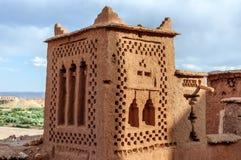 Stärkt stad av Ait Ben Haddou (Marocko) Arkivfoto