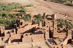 Stärkt stad av Ait Benhaddou Fotografering för Bildbyråer